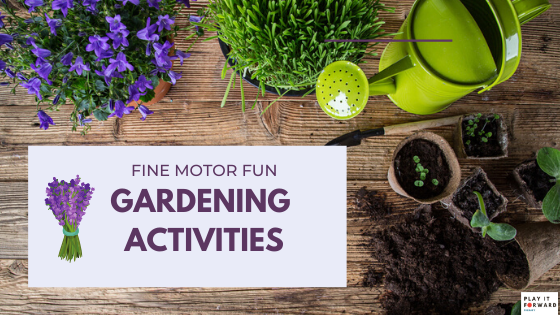 How to Grow Your Child's Fine Motor Skills with Gardening