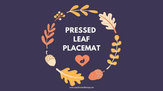 Pressed Leaf Placemat