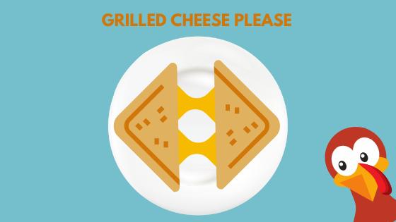 Turkey Grilled Cheese Sandwich