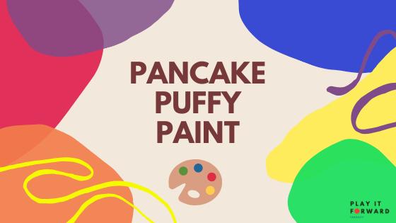Pancake Puffy Paint