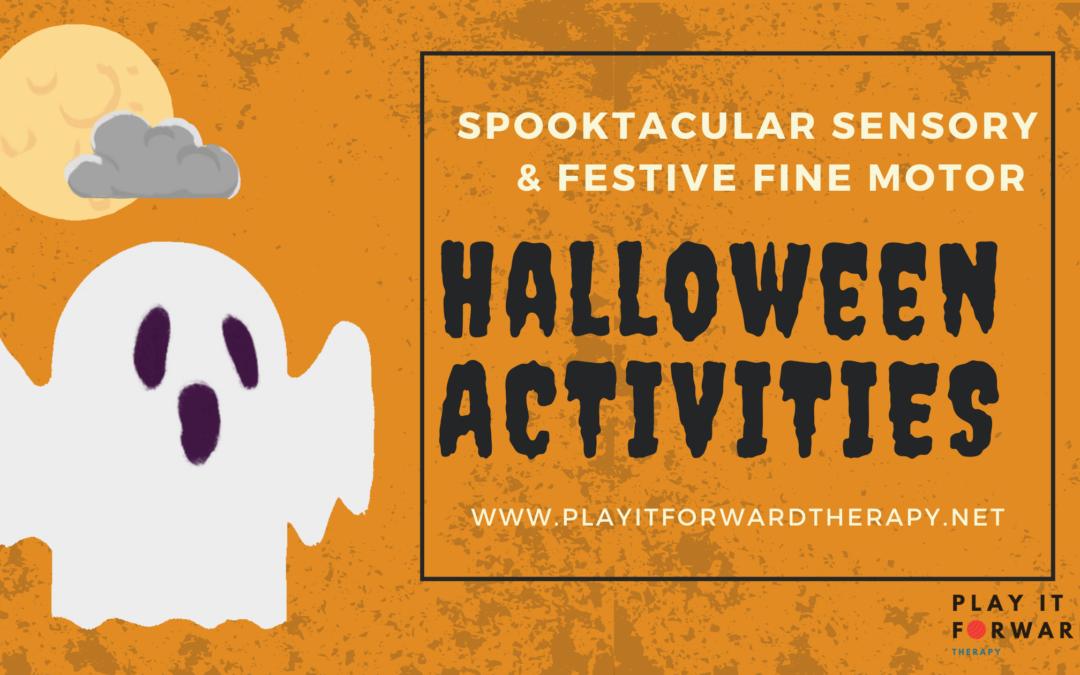 Spooktacular Halloween OT Activities